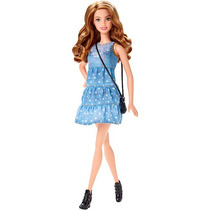 Barbie Fashionistas Vestido Denim Doll