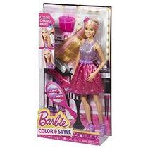 Barbie Color De Cabello Y Estilo Muñeca