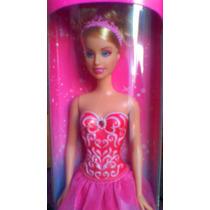 Barbie Bailarina Guera Con Traje Rosa