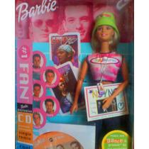 Barbie Nsync Modelo 2 Inlcuye Cd De Musica