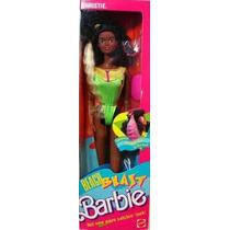 Barbie Beach Blast Cambian De Color Los Mechones Ano 1980s