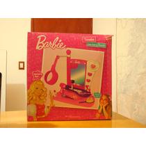 Barbie Tocador Con Luz Y Sonido Para Niña, Remate!