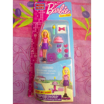 Barbie Mega Bloks Set De Miniaturas Barbie Se Va De Fiesta
