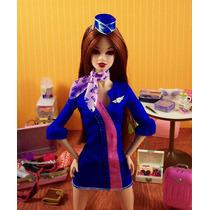 Ropa P/barbie Fashion Flight Attendant De Mattel