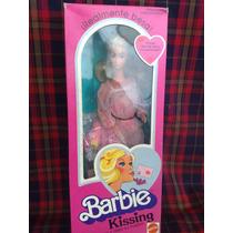 Barbie Kissing Original De Los 80s Y Su Sala De Rattan Lujo