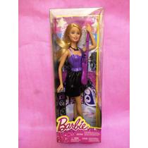 Barbie Quiero Ser Rockstar+1guitarramorada M O D E R N A!!!