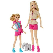 Barbie Hermanas Safari Fun Barbie Y Stacie Muñeca 2-pack
