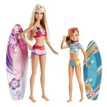 Barbie Hermanas Surf Barbie Y Stacie Doll (2-pack)