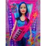 Barbie Pelo Azul De Campamento Pop