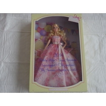 Barbie Birthday Wishes 2014 Vestido Rosa