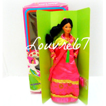 Barbie Corea Coreana Korean Muñecas Del Mundo 1r Ed Louvre67