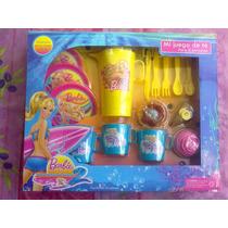 Barbie Una Aventura De Sirenas 2 Juego De Te