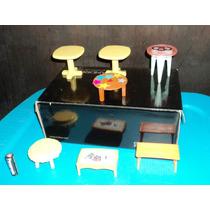 Barbie Muebles De Bebe Mesas L5 *precio X Mueble*