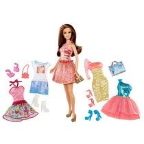 La Moda Barbie Doll Teresa Giftset