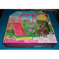 Barbie Columpio Y Resbaladilla De Chelsa