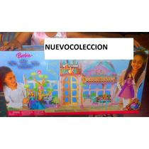 Barbie Princesa De La Isla Castillo E Invernadero