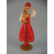 Barbie Figura Rusian Dolls Of The World Mundo Hallmark