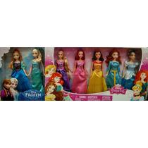 Colección 7 Princesas Disney Nuevas Selladas Originales