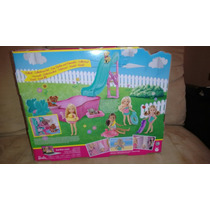 Barbie Piscina De Perritos
