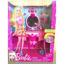 Barbie Set De Muebles Tocador Recamara Original
