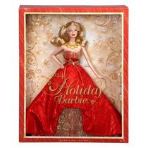 Barbie De Colección Felices Fiestas Nuevo Blakhelmet Sp