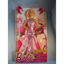 Barbie Vestido De Gala Rosa Y Fabulosa 2