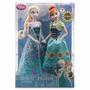 Muñecas Frozen Fever Set Anna Elsa Disney Store