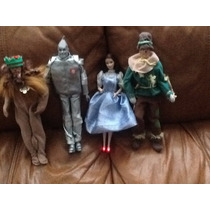 Dorothy Mago Oz Mattel 1966 Espantajaros Hombre Ojalata Leon