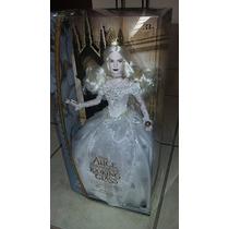 Muñeca Reina Blanca Disney Store Alicia A Traves Del Espejo