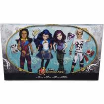Disney Descendientes Pack 4 Muñecos Mal Evie Carlos Jay 2015