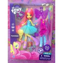 Mi Pequeno Pony Muneca Fluttershy Con Ropa Y Accesorios