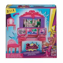 Estacion Super Secreta De Barbie Mattel