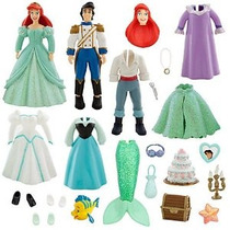 Parques Disney Ariel W / Príncipe Eric Deluxe Princesa Fashi