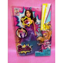 Barbie Super Princesa Con Luz Y Sonido - !! U N I C A !!
