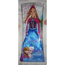 Muñeca Anna Disney Frozen Original De Mattel 12 Pulgadas