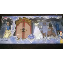 Estuche Guardaropa Blanca Nieves Muñeca Disney Store Nuevo