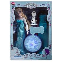 Muñeca Elsa Canta Y Luz Pelicula Frozen Disney Store Nueva