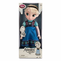 Disney Store Muñecas Animators Elsa Frozen Originales