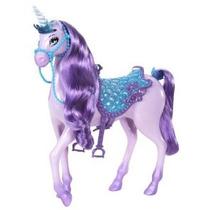 Barbie Princesa Del Unicornio Doll Purple