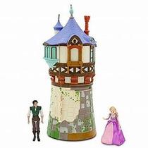 Muñeca Princesa De Disney Enredados Rapunzel Minitorre Juego