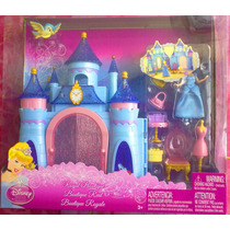Princesa Cenicienta Set Mini Casita Muneca Y Accesorios