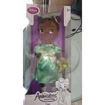 Disney Store Muñeca Animator Tiana La Princesa Y El Sapo