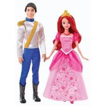 Disney Princesa Ariel Y Eric Day Out Muñecas