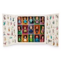 Set Disney Store Animators De 15 Mini Princesas Oferta Unica