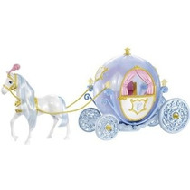 Disney Princess Cinderella Caballo Y Carro