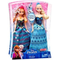 Disney Congelado Anna & Elsa Muñeca De Moda 2-pack Limited D