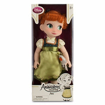 Disney Store Muñecas Animators Anna Frozen Original