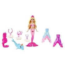 Barbie La Princesa Perla Pequeño Doll Y Fashions Giftset
