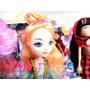 5 Muñecas Movibles Y Accesorios Tipo Monster High Barbie