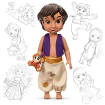 Aladdin Animators Muñecas Original Disney Store Coleccion